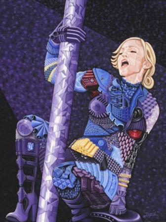 Madonna by Ingrid Black
