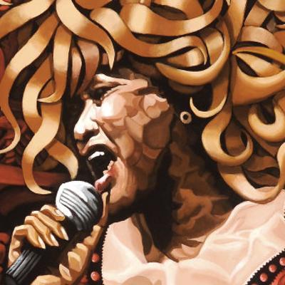Tina Turner by Ingrid Black