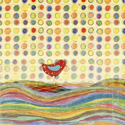 Feathers, Dots & Stripes VII by Ingrid Blixt