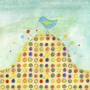 Feathers, Dots & Stripes XIII by Ingrid Blixt
