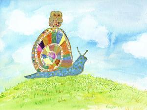 Meadow Snail by Ingrid Blixt