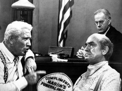 Inherit The Wind, Spencer Tracy, Harry Morgan, Fredric March, 1960