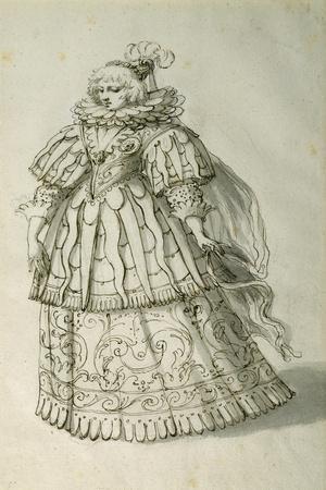 Masquer, C.1638