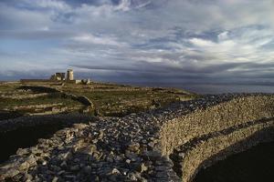 Inishmore Lighthouse, Inishmore, Aran Islands, Ireland