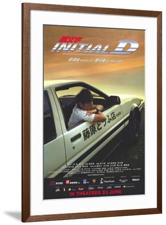 Initial D--Framed Poster