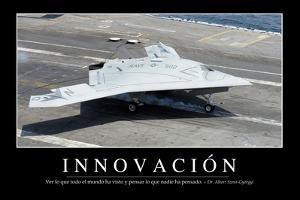 Innovación. Cita Inspiradora Y Póster Motivacional