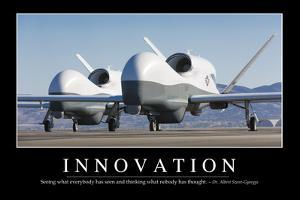 Innovation: Inspirational Quote and Motivational Poster