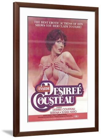 Inside Desiree Cousteau--Framed Poster