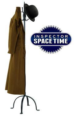 Inspector Spacetime Hat and Coat Plastic Sign