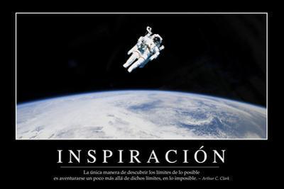Inspiración. Cita Inspiradora Y Póster Motivacional