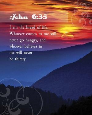 John 6:35 I am the Bread of Life (Hills) by Inspire Me
