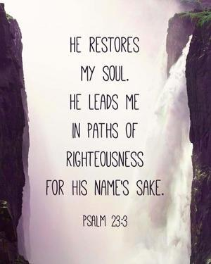 Psalm 23:3 by Inspire Me
