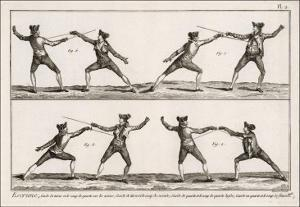 Instruction in the Art of Fencing. 2 of 9
