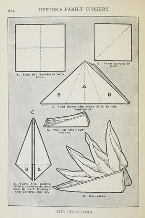 https://imgc.allpostersimages.com/img/posters/instructions-for-folding-a-serviette-into-the-cockscomb-shape_u-L-PIXEF20.jpg?artPerspective=n