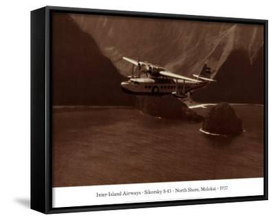Inter-Island Airways, Sikorsky S-43, Kaunakakai, Molokai, Hawaii, 1937