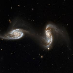 Interacting Galaxies NGC 5257 And 5258