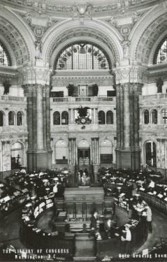 Interior, Library of Congress, Washington D.C.