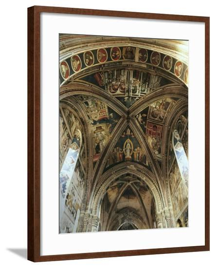 Interior of Basilica of Santa Caterina D'Alessandria, Galatina, Apulia, Italy--Framed Giclee Print