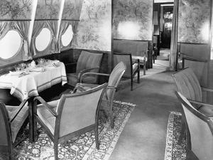 Interior of Dornier Flugschiff Do X Aircraft
