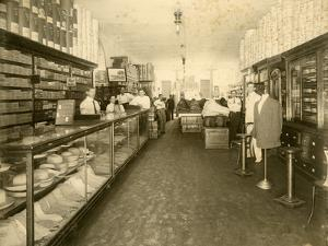 Interior of John Sewell and Co. Shoe Store at 304-6 12th Avenue (Flagler Street), C.1910