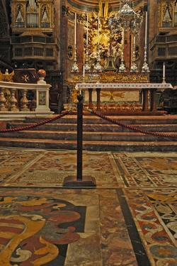 Interior of St. Johns Co-Cathedral, Valletta