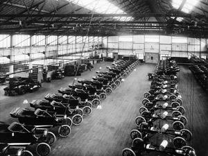Interior of the Ford Works, Trafford Park, Manchester, C1911-C1927