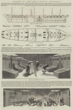 Interior of The Great Britain Steam-Ship