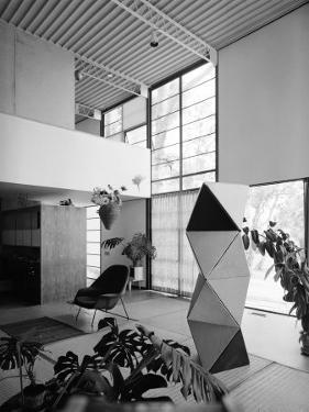 Interior of the Home of Designer Charles Eames