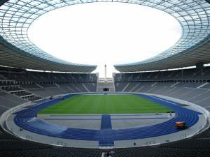Interior of the Olympic Stadium, Berlin, Germany