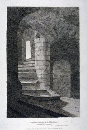 Interior of the White Tower, Tower of London, 1806