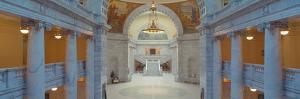Interior of Utah State Capitol, Salt Lake City, Utah