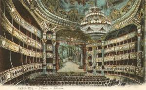 Interior, Opera House,Paris, France