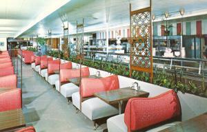 Interior, Retro Cafeteria