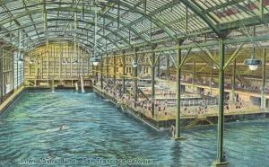 Interior, Sutro Baths, San Francisco, California