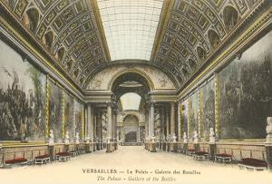 Interior, Versailles Palace, France