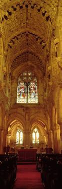 Interiors of a Chapel, Rosslyn Chapel, Roslin, Midlothian, Edinburgh, Scotland