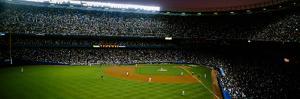 Interiors of a stadium, Yankee Stadium, New York City, New York, USA