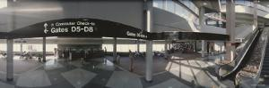 Interiors of an Airport, Charlotte Douglas International Airport, North Carolina, USA