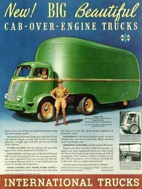 International Cab Over Truck
