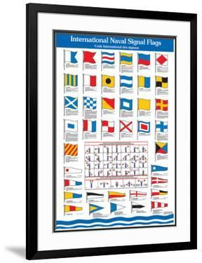 International Flags Naval Signal