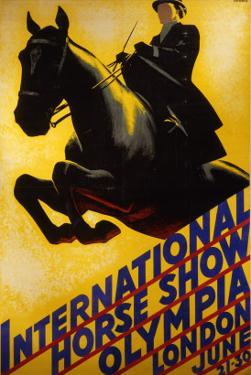 International Horse Show Advert