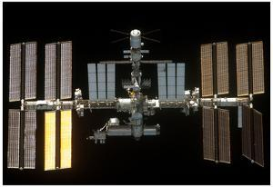 International Space Station 2011 4 Photo Poster