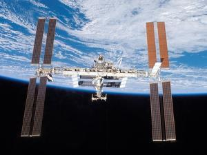 International Space Station in 2007