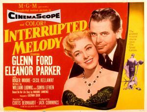 Interrupted Melody, Eleanor Parker, Glenn Ford, 1955
