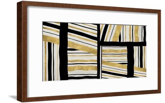Intersect - Golden-Ellie Roberts-Framed Giclee Print