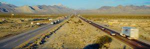 Interstate 15, Near Las Vegas, after Winter Storm, Nevada