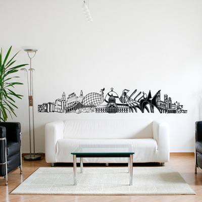 Into Montreal Wall Decal