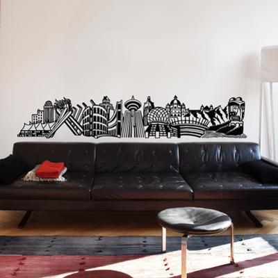 Into Vancouver Wall Decal