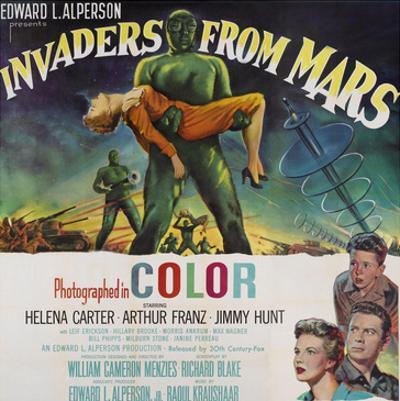 Invaders From Mars, Bottom Left From Top: Jimmy Hunt, Arthur Franz, Helena Carter, 1953