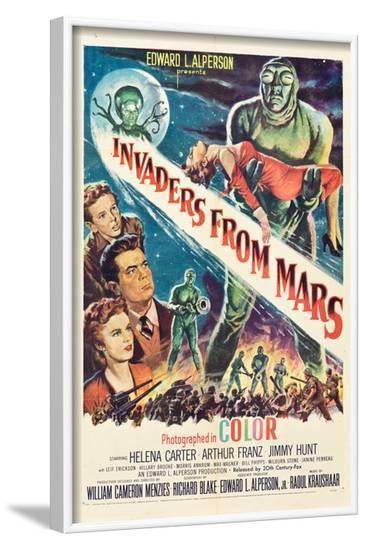 Invaders From Mars, Jimmy Hunt, Arthur Franz, Helena Carter, 1953--Framed Photo
